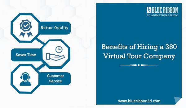 Top 3 Benefits Of Hiring A 360 Virtual Tour Company