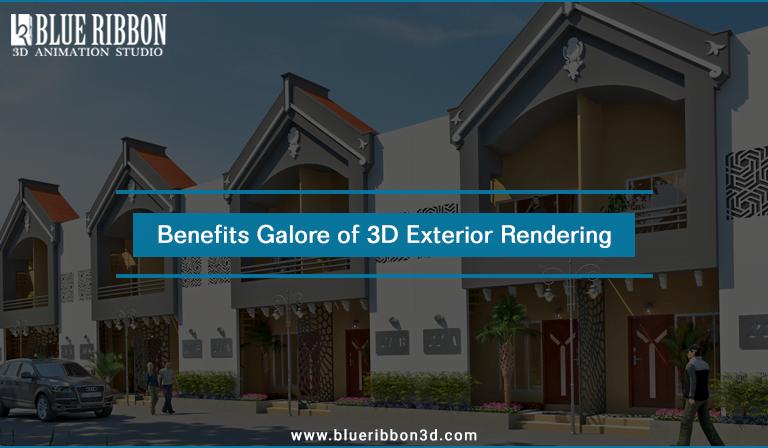 Benefits Galore of 3D Exterior Rendering